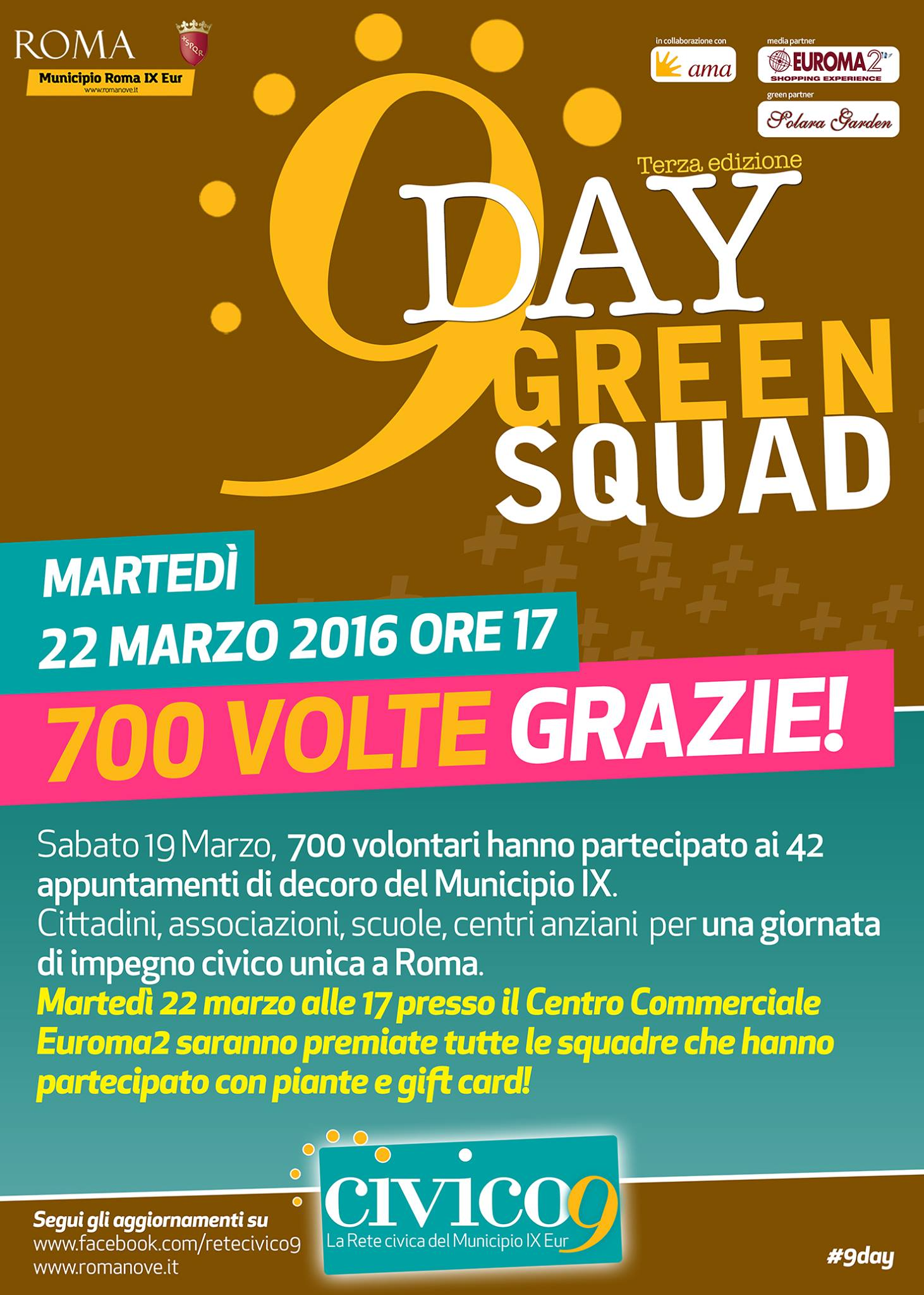 "Green ""9Day"" - Civico9"