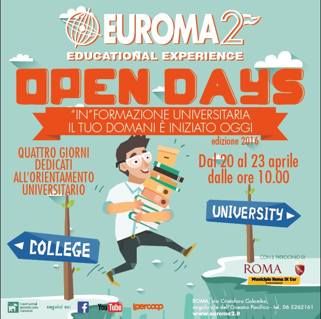 Locandina Open Days University