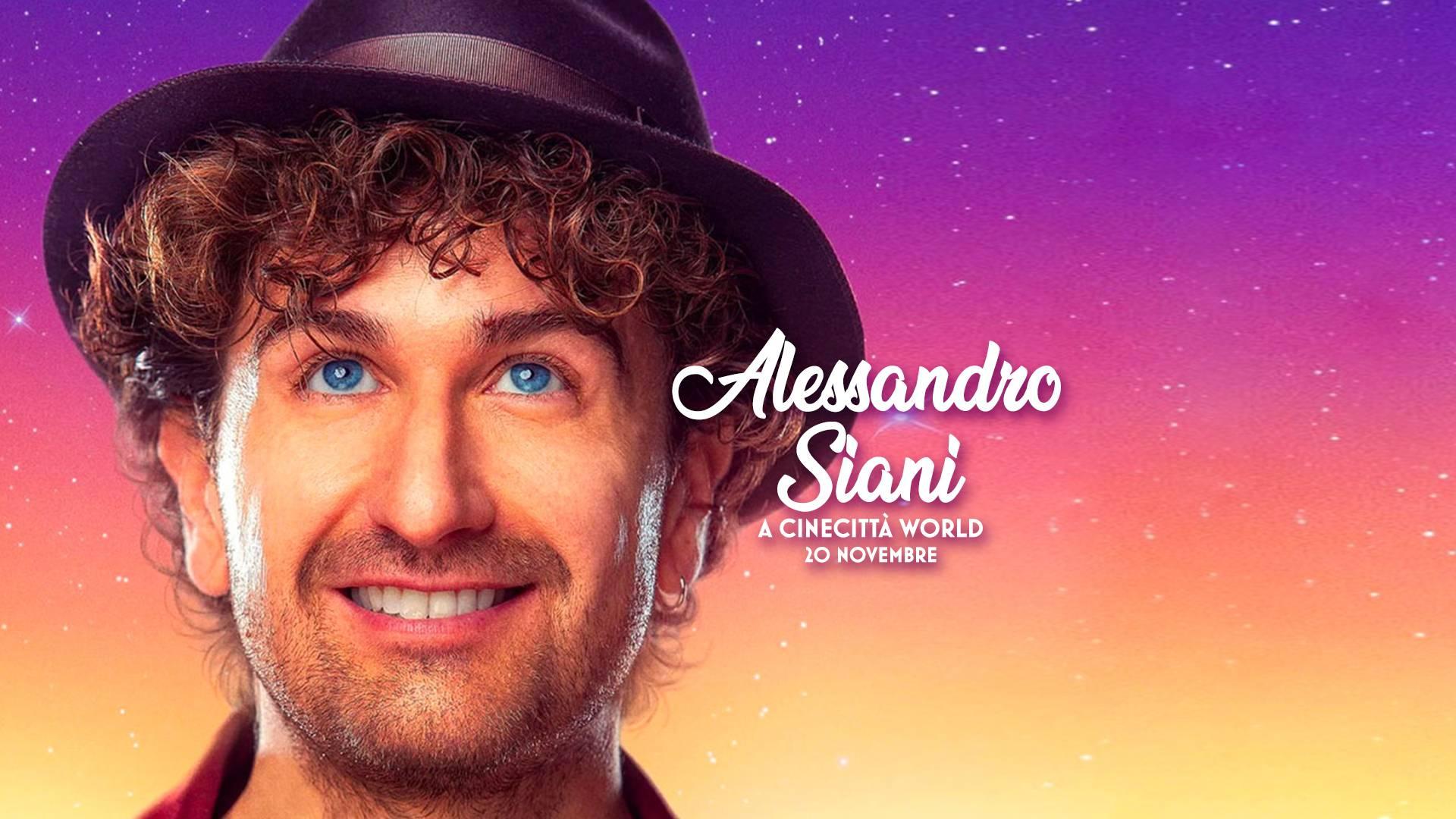 A CINECITTA' WORLD E' ALESSANDRO SIANI SHOW - Target Magazine Online